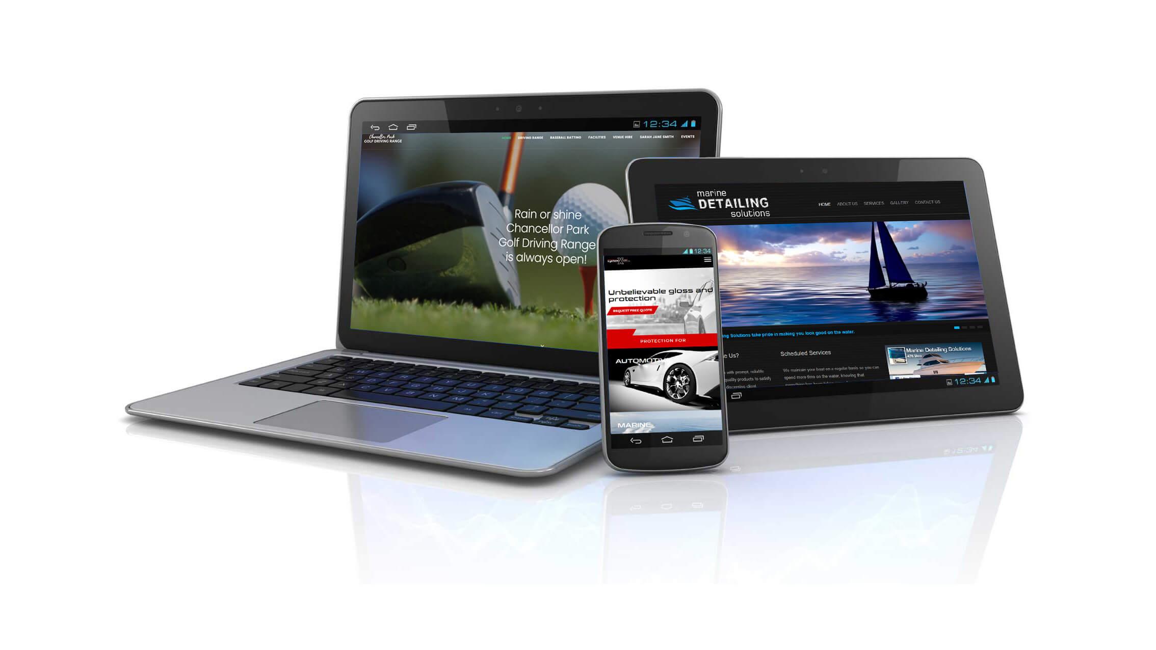Website Design & Multimedia Content